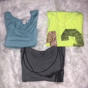 Bundle of three shirts